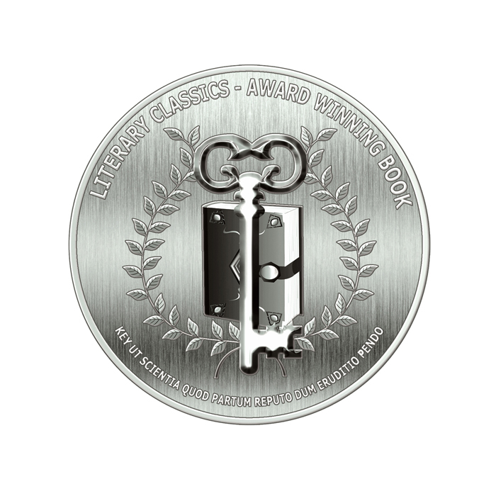 Award Seals Metallic Silver lores