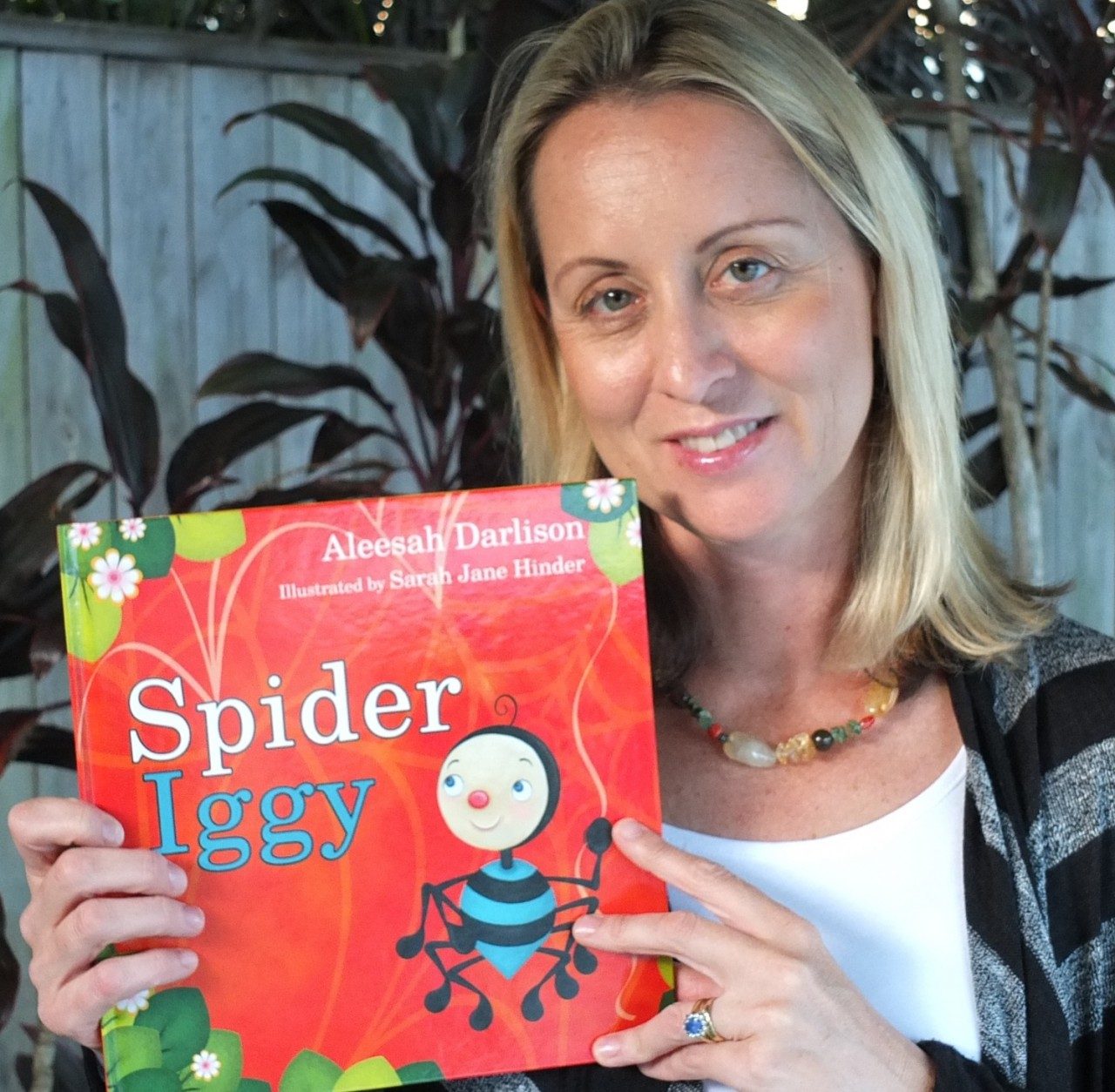 Book Week with popular children's author, Aleesah Darlison