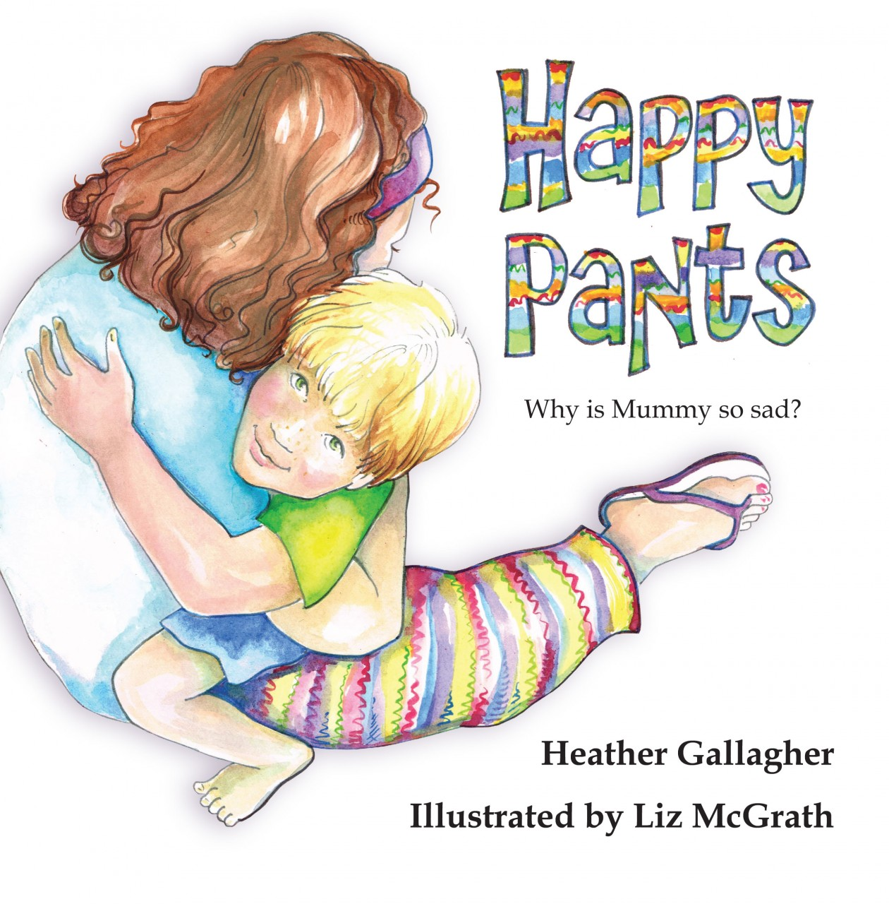 Heather Gallagher talks about Happy Pants and Mental Health